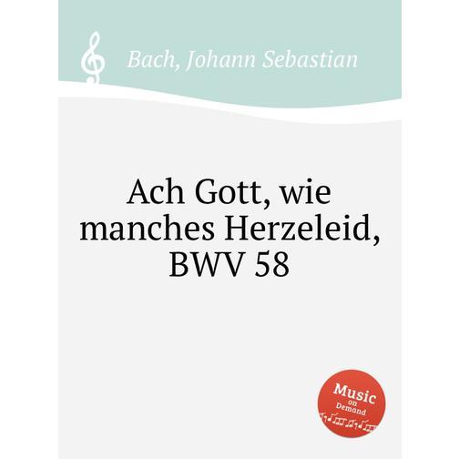Ах, Господи, сколь многие печали, BWV 58 38717883