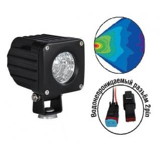 Светодиодные фары OFF-Road AVS Light FL-1410 (10Вт) AVS
