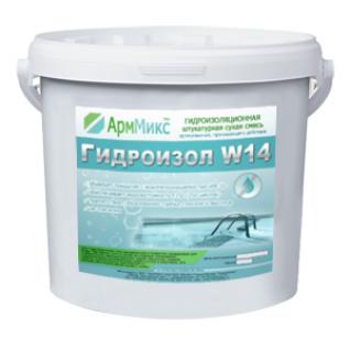 Гидроизоляционная смесь Гидроизол W14