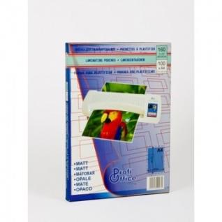 Пленка для ламинирования ProfiOffice 80х111, 150мкм 100шт/уп.