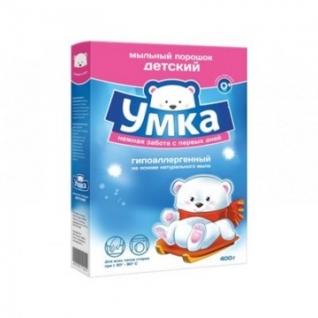 Порошок стиральный детский УМКА 400 гр.