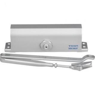 Доводчик на дверь TESA CT 845 EN4/5, с рыч.тягой,до 100кг,серебро(CT845PL)