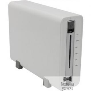 Qnap QNAP TS-112P Сетевой накопитель, 1 отсек для HDD. Marvell 1,6 ГГц