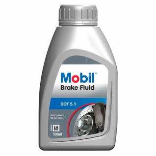 Тормозная жидкость Mobil Brake fluid DOT 5.1 0.5л