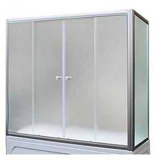 Шторка для ванны боковая 1MarKa 75х140 TS (хром, прозрачная)