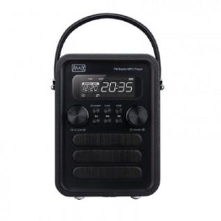 Радиоприемник Max MR-340 black edition