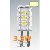 Светодиодная лампочка M G9-18X5050ES-240LM, 220V3,3W-4500K лампа светодиодная/500/