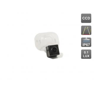CCD штатная камера заднего вида с динамической разметкой AVIS Electronics AVS326CPR (#031) для HYUNDAI SOLARIS SEDAN/ KIA CERATO II (2009-2012) / VENGA Avis
