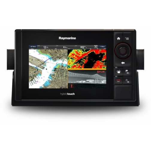 Эхолот-картплоттер Raymarine eS78 Hybridtouch Wi-Fi, DownVision (E70265) 36981631