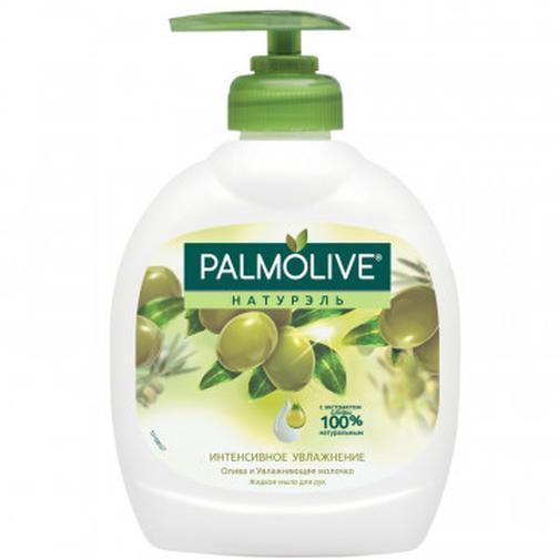 Мыло жидкое PALMOLIVE 300мл Олива+увлажняющее молочко с дозатором 37868945 1