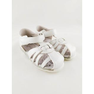 XGM-9009-1 белый туфли открытые Kenka (21-26) (26)