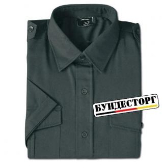 Рубашка с короткими рукавами, цвет черный
