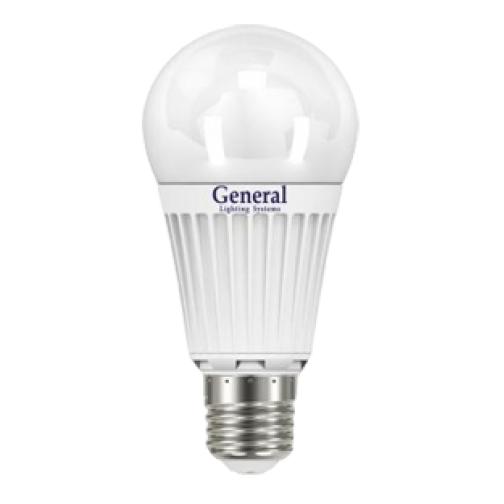 Светодиодная лампа 14W (Теплый) General ЭКО 717
