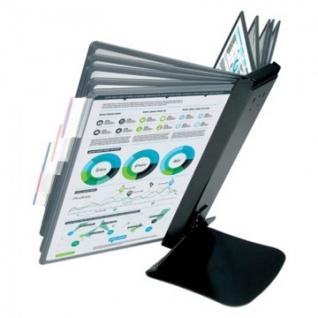 Демосистема настольная Promega office FDS016 метал. основа, 10 пан.,черный