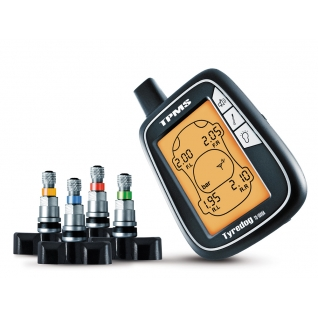 Система контроля давления и температуры в шинах Carax TPMS CRX-1003 (внутренние датчики)