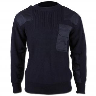 Mil-Tec Пуловер Бундесвера акриловый, цвет синий