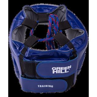 Шлем открытый Green Hill Training Hgt-9411, синий размер L