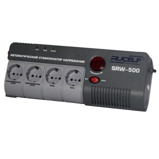 Стабилизатор напряжения релейный RUCELF SRW-500-D