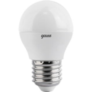 Gauss Лампа Gauss LED Globe 4W E27 2700K 1/10/50