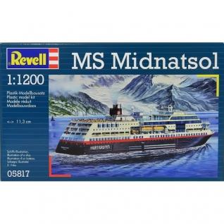 """Сборная модель норвежского круизного лайнера """"Миднатсол"""", 1:1200 Revell"""