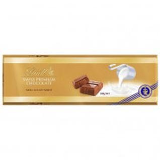 Шоколад Lindt Gold молочный Миндаль, 300г