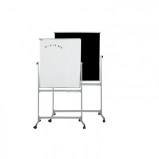 Доска магнитно-комбинированная меловая 1-эл.поворот.100x150 см черный-белый