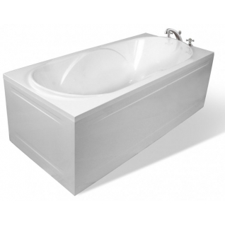 Отдельно стоящая ванна Эстет Астра белая