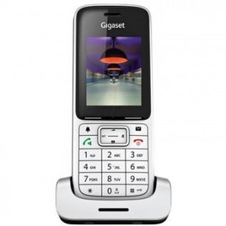 Радиотелефон Gigaset SL450HX серебристый металлик