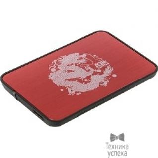 """AgeStar AgeStar 3UB2A8 RED USB 3.0 Внешний корпус 2.5"""" SATA AgeStar 3UB2A8 (RED) USB3.0, сталь+пластик, безвинтовая конструкция, крышка из нержавеющей стали, красный 09682"""