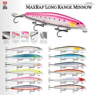 Воблер плавающий MaxRap Long Range Minnow MXLM12-FRH (до 1,2 м, 12 см 20 г) Rapala