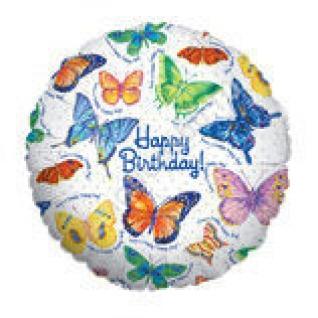 Бабочки С днём рождения