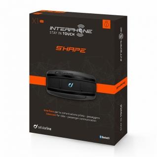 Мото - bluetooth гарнитура - Interphone SHAPE - (комплект из 1 шт.)