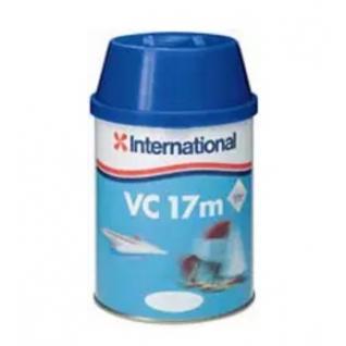 Краска твердая тонкопленочная тефлоновая International VC 17 M, 750 мл, голубая (10005529)