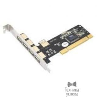 STLab ST-Lab U166 RTL USB 2.0, 4+1 Ports (VIA6212) PCI