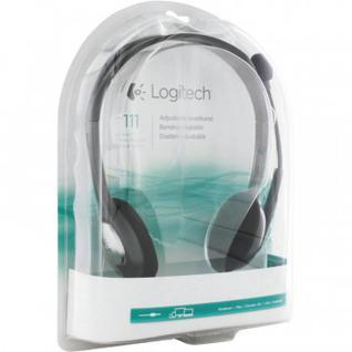 Гарнитура Logitech Stereo Headset H111 (981-000593)