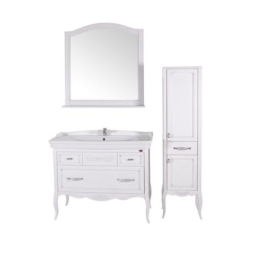 Подстолье Модерн 105 (Белый/Патина серебро) ASB-Woodline 38117076