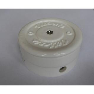 Распределительная коробка керамическая D70 H40 (белая)  NEW
