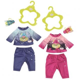 Одежда для куклы Zapf Creation Zapf Creation Baby born 824-818 Бэби Борн Удобный костюмчик и светлячок-ночник
