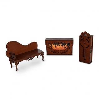 """Мебель для кукол """"Одним прекрасным утром"""" - Гостиная, коричневая ЯиГрушка"""