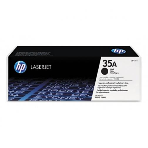 Картридж CB435A (35A) для HP LaserJet P1005, P1005 Limited, P1006, P1009 (чёрный, 1500 стр.) 720-01 Hewlett-Packard 852598 1