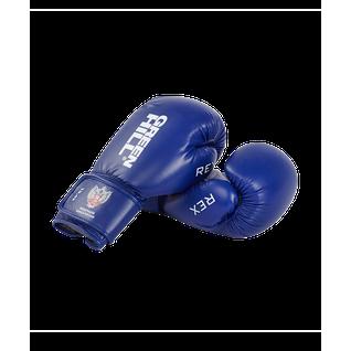 Перчатки боксерские Green Hill Rex Bgr-2272, 10 Oz, синий