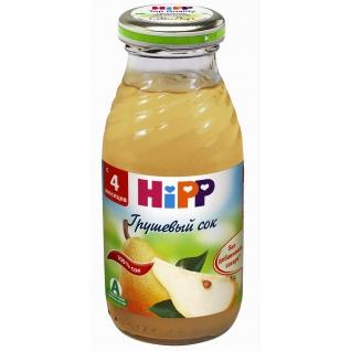 """Детский сок HiPP """"Грушевый"""" (с 4 мес.), с мякотью, 0.2 л"""