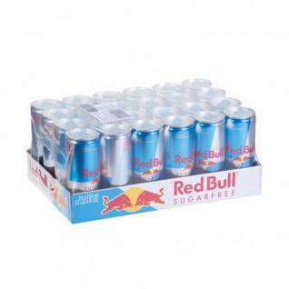 Напиток энергетический Ред Булл без сахара 0,25 л. 24шт./уп.