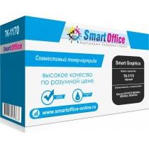 Тонер-картридж TK-1170 для Kyocera ECOSYS M2040dn, M2540dn, M2640idw, совместимый, чёрный (7200 стр.) с чипом 17997-01 Smart Graphics