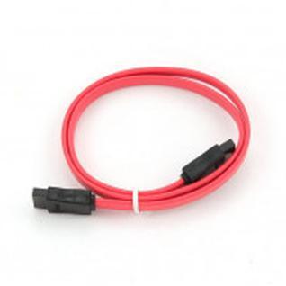 Кабель SATA-SATA, 7pin/7pin, 0.5 м, Cablexpert, красный, CC-SATA-DATA