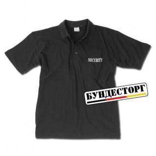 Рубашка поло Security черного цвета