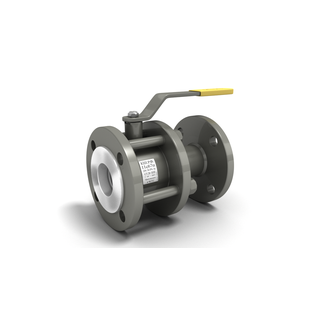 Кран шаровой стальной разборный 11с67п Ду 80 LD фланцевый (полнопроходной)