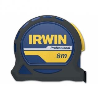 Рулетка Irwin 8м х 25мм PROFESSIONAL, магнит, нейлон, двухсторонняя разметка без упаковки