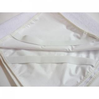 Наматрасник ДЕТ. непромокаемый 70х140, ламинированная махра, белый, 10 шт.