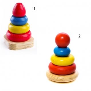 Деревянная пирамидка, 5 деталей Томик